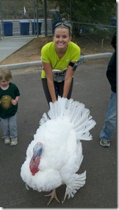 Mesa Turkey Trot Turkey and I