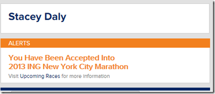 NYCM 2013 Acceptance
