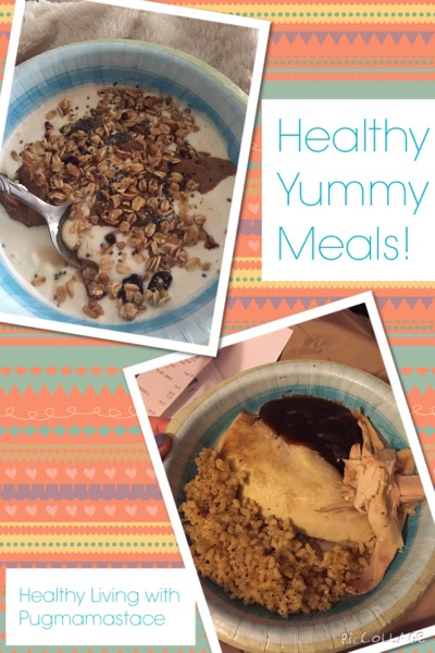 Health Yummy Meals Collage